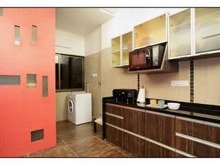 Konnur site Modern kitchen by CK Interiors Pvt Ltd Modern