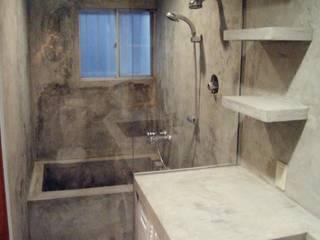 五本木の家 モダンスタイルの お風呂 の 株式会社エキップ モダン