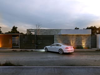 Modern houses by TNGNT arquitectos Modern