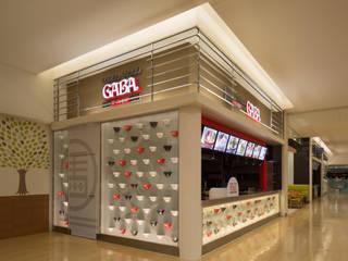 Restaurantes de estilo  por Pilot  Planning  Inc., Asiático