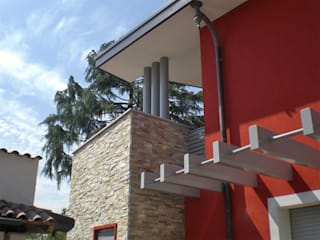 Maisons modernes par Studio GIOLA | Casorezzo MI Moderne
