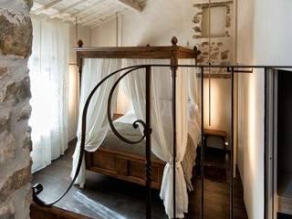 Porte del Passato ChambreLits & têtes de lit Bois Marron