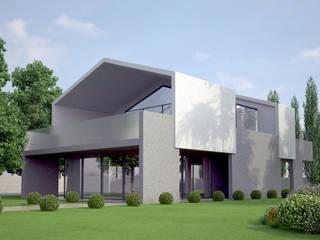 現代房屋設計點子、靈感 & 圖片 根據 architettiFAVARO 現代風