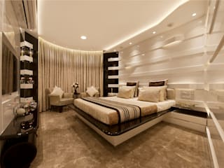 Bridal Room, Mumbai.:  Bedroom by SDA designs