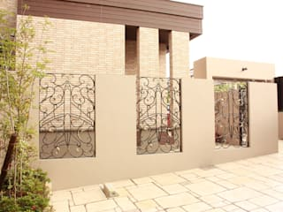 株式会社ディオ Garden Fencing & walls Iron/Steel Black