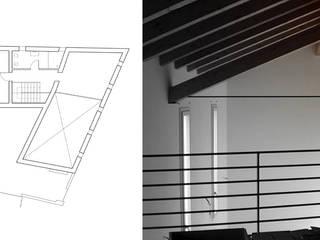 CASA S Camera da letto minimalista di 365Architetti Minimalista