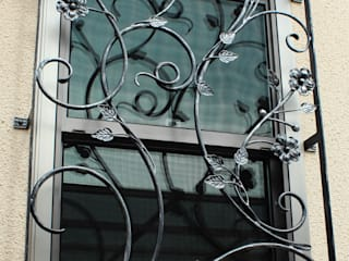 株式会社ディオ Windows & doors Window decoration Iron/Steel Black
