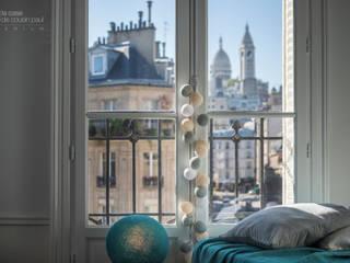 Guirlande Premium La case de cousin paul - composition Une chambre à Montmartre:  de style  par La case de cousin paul