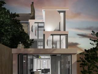 Wimbledon House Modern houses by Debbie Flevotomou Architects Ltd. Modern