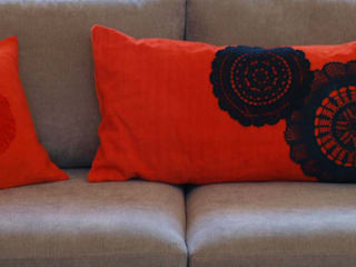 la p'tite fabrik Living roomAccessories & decoration Hemp/Jute Orange