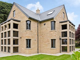 Residential Development, West Yorkshire Eclectic style houses by Wildblood Macdonald Eclectic