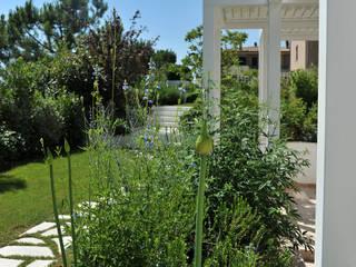 Emozioni in bianco Giardino moderno di Giardini Giordani Moderno