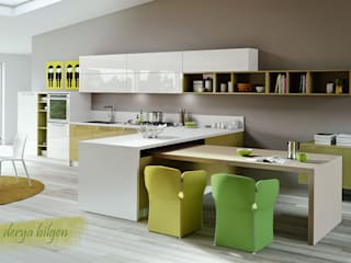 Derya Bilgen ห้องครัวเครื่องใช้ในครัว