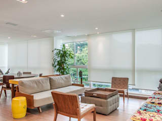 Residência Barra da Tijuca AR Arquitetura & Interiores Вітальня