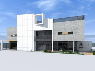 Casas de estilo  por CHM architect