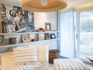 Living room by Ines Calamante Diseño de Interiores, Modern