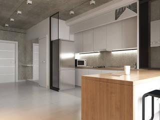 Квартира в ЖК Британский квартал: Кухни в . Автор – 27Unit design buro