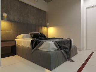 Chambre industrielle par 27Unit design buro Industriel