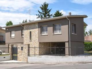 realizzazioni Casas modernas de NCe Architetto Moderno