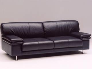 Domeni sofa: TANIGAWA STUDIO 家具デザインが手掛けたリビングルームです。