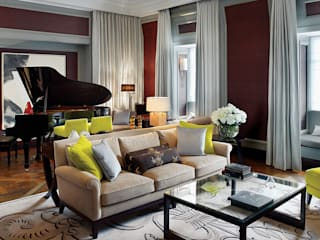 Corinthia Hotel Penthouses Classic style living room by Debbie Flevotomou Architects Ltd. Classic