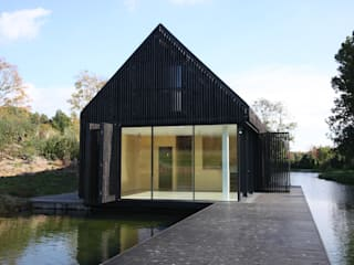 The Boathouse IQ Glass UK Modern windows & doors