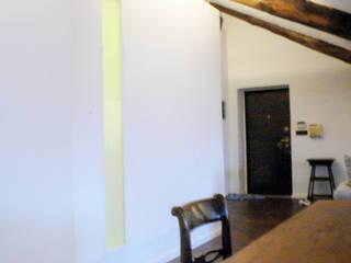RECUPERO SOTTOTETTO | Torino | 2013 Soggiorno minimalista di studio AGILE Minimalista