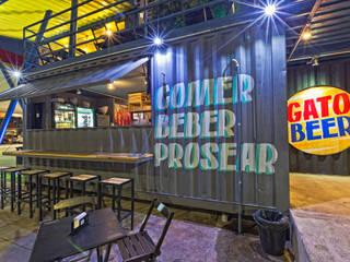 GATO BEER - URBAN BAR Bares e clubes modernos por CRAFT ARQUITETURA Moderno