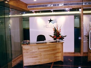 Study/office by NAMAN INTERIORS - Turnkey Interior Contractors,