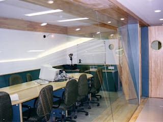 Modern study/office by NAMAN INTERIORS - Turnkey Interior Contractors Modern