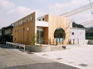 にしもと内科クリニック オリジナルな病院 の 設計工房 A・D・FACTORY 一級建築士事務所 オリジナル