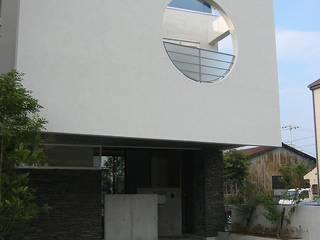 吹屋町のライトコートハウス モダンな 家 の 設計工房 A・D・FACTORY 一級建築士事務所 モダン