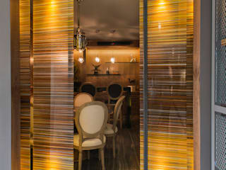 Residencia Reforma, Cd de México: Bares y discotecas de estilo  por Studio Orfeo Quagliata