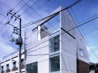 Minimalistische Häuser von スズケン一級建築士事務所/Suzuken Architectural Design Office Minimalistisch