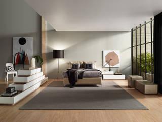 现代客厅設計點子、靈感 & 圖片 根據 MOVEREL-Indústria de Mobiliário, SA 現代風