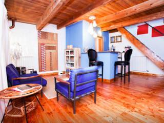 Homestaging appartamenti Soggiorno moderno di Olivinta Moderno