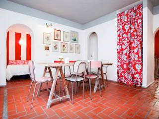 Homestaging appartamenti Sala da pranzo moderna di Olivinta Moderno