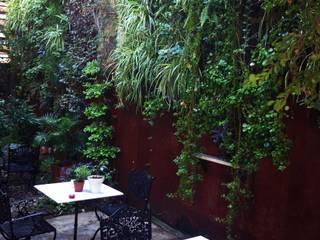 jardines verticales 花園植物與花
