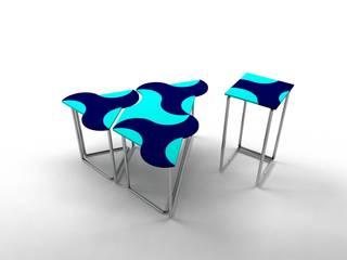 Ayça Sevinç Tasarım ห้องนั่งเล่นโต๊ะกลางและโซฟา