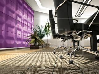 3D Decorative Panel - Loft System Design - model Chocolate Bar Loft Design System Walls & flooringWall tattoos