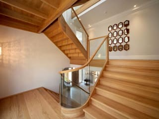 Ascot Modern corridor, hallway & stairs by Smet UK - Staircases Modern