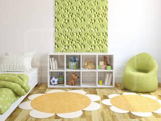 3D Decorative Panel - Loft System Design - model Blossom Loft Design System Walls & flooringWall tattoos