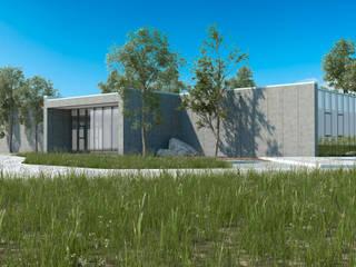 Escola de Hotelaria de Fátima_EHF: Escritórios e Espaços de trabalho  por FILIPE SARAIVA - ARQUITECTOS, LDA,