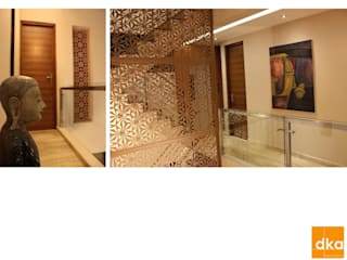 Modern Corridor, Hallway and Staircase by Dutta Kannan architects Modern