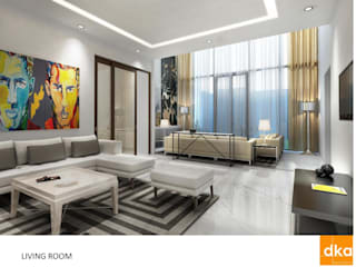 Modern Living Room by Dutta Kannan architects Modern