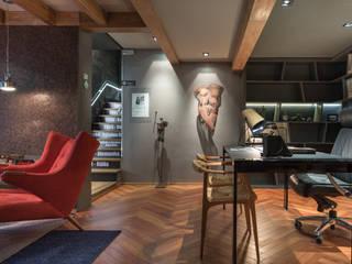 Casa Cor 2015 – Espaço Corleone: Escritórios  por Mundstock Arquitetura,