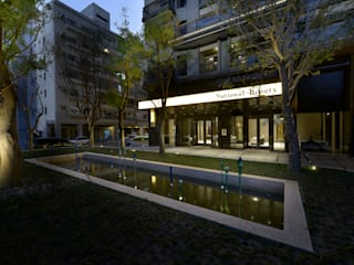 Taiwan Espacios comerciales de estilo moderno de Studio Orfeo Quagliata Moderno