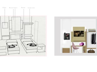 Hôtels modernes par PROJECT AB Moderne