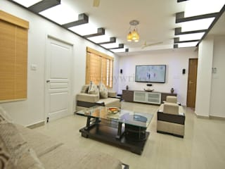 Mr.Viswanathan Client:  Living room by Creations