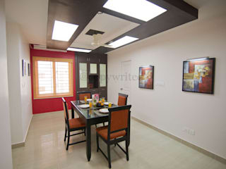 Mr.Viswanathan Client Modern media room by Creations Modern